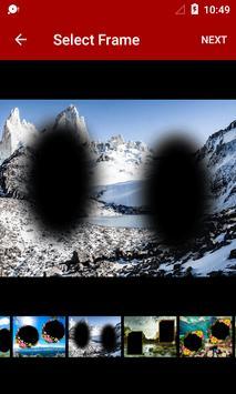 Mountain Dual Photo Frames screenshot 1
