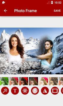 Mountain Dual Photo Frames screenshot 2