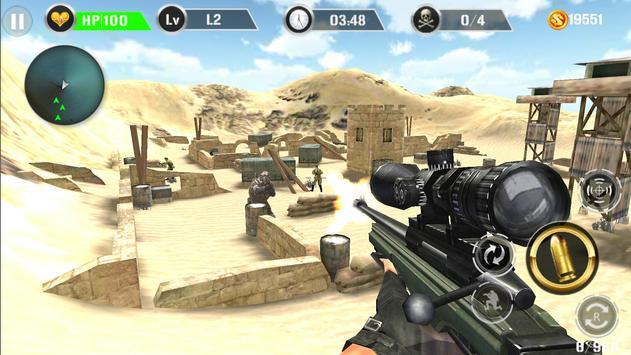 Mountain Sniper Shooting poster