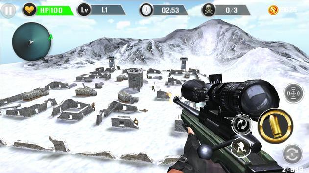 Mountain Sniper Shooting apk screenshot