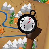 A Compass and a Map icon