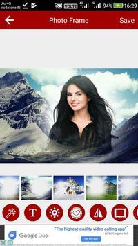 Mountain Photo Editor poster