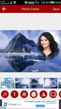 Mountain Photo Editor screenshot 14