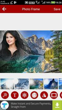 Mountain Photo Editor screenshot 15