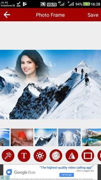 Mountain Photo Editor screenshot 16