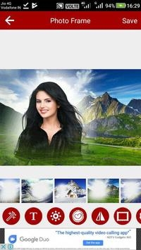Mountain Photo Editor screenshot 1
