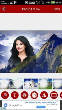 Mountain Photo Editor screenshot 2