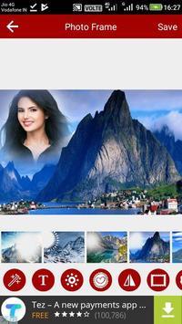 Mountain Photo Editor screenshot 6