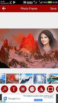 Mountain Photo Editor screenshot 7