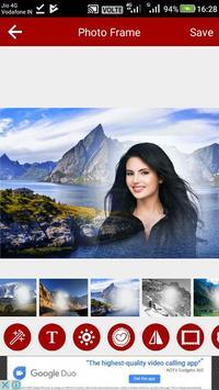 Mountain Photo Editor screenshot 8