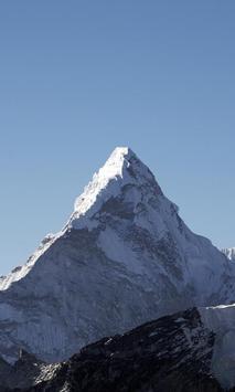 Mount Everest Wallpaper poster
