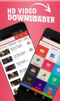 ALL Video HD Downloader plus 2017! apk screenshot