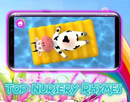 Top Nursery Rhymes - Videos Offline‏ apk screenshot