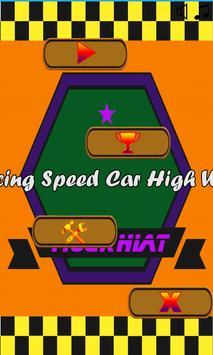 Race Car High Way poster