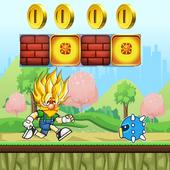 Super jumper sayan run icon