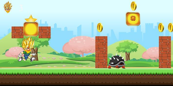 Super jumper sayan run apk screenshot