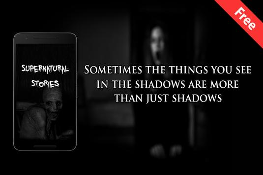 Supernatural Stories poster