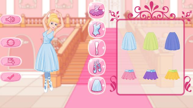 Ballerina Dress Up Games apk screenshot