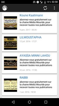 Mouride Khassaide poster