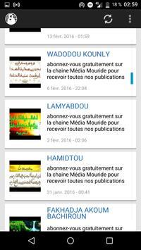 Mouride Khassaide apk screenshot