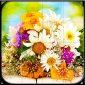 Flowers Tile Puzzle icon