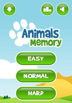 Animals Memory Game apk screenshot