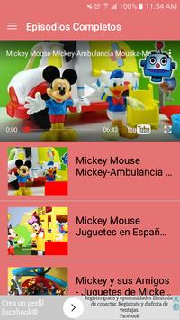Videos de Mickey Mouse captura de pantalla 1