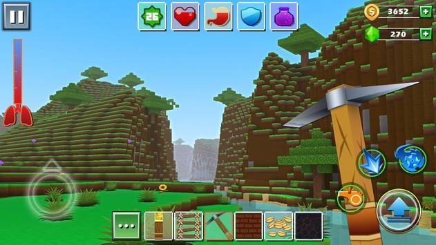 5 Schermata Mondo di riquadro - Exploration Lite Craft