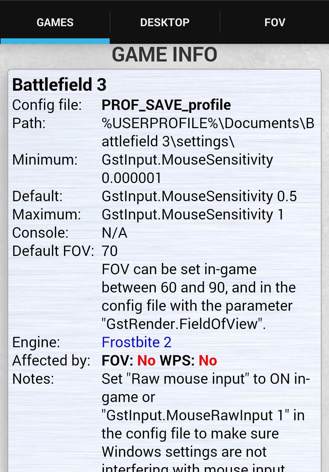 Mouse Sensitivity for Android - APK Download