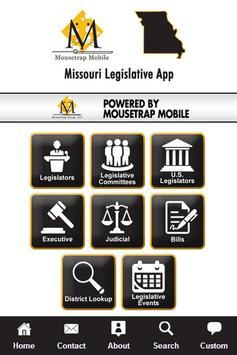 Missouri Legislative App poster