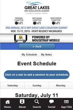 MPI Great Lakes Summit apk screenshot