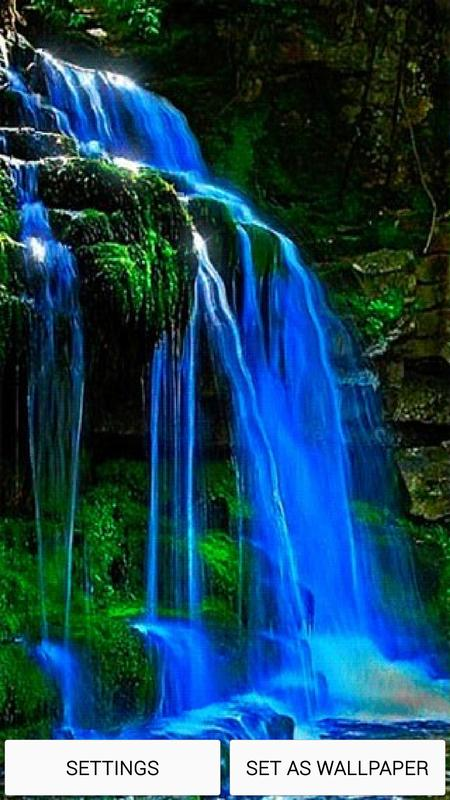 Waterfall 3d Live Wallpaper Hd For Android Apk Download