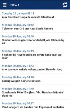 Eredivisie Info screenshot 5