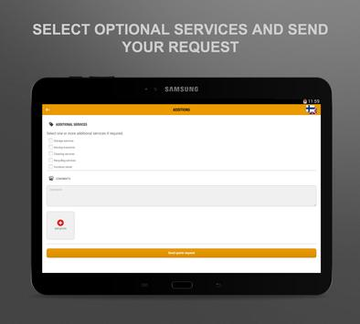Victor Ek move application screenshot 4