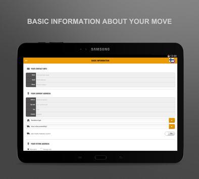 Victor Ek move application screenshot 5