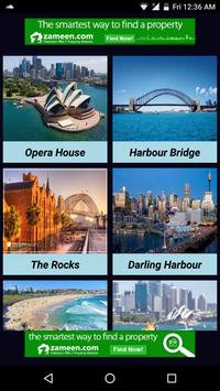 Attractive Places In Sydney poster