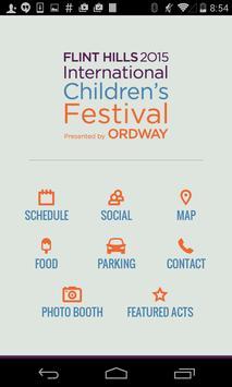 Flint Hills Festival poster