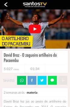 Santos TV Oficial screenshot 1