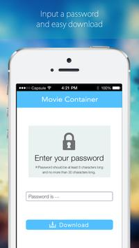 Movie Container Plus apk screenshot
