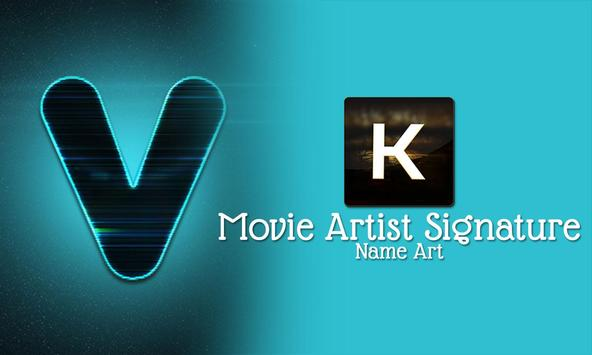 Movie Artist Signature - Name Art screenshot 4