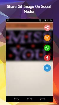 Miss You Gif apk screenshot