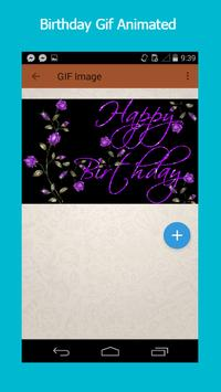 Birthday Gif screenshot 4