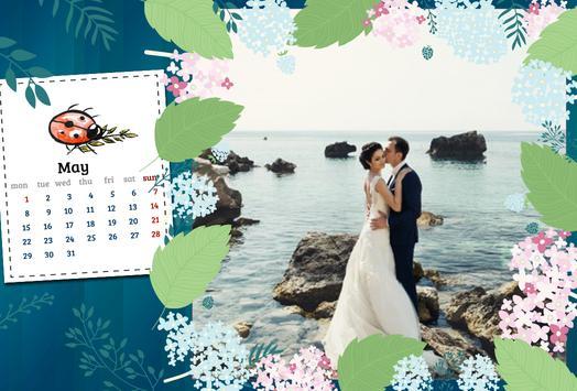 Calendar Photo Frames poster