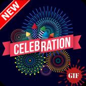 Celebration Gif icon