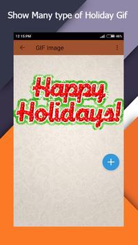 Holiday Gif apk screenshot