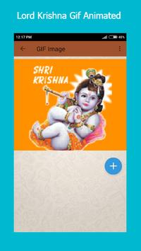 Lord Krishna Gif apk screenshot
