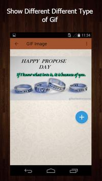 Propose Gif apk screenshot