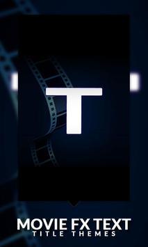 Movie FX Text - Title Themes screenshot 2