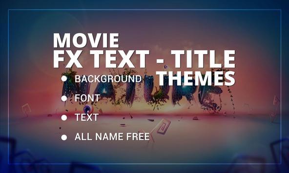Movie FX Text - Title Themes screenshot 3