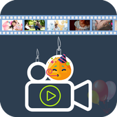 Birthday Video Maker with Name icon